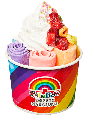 RAINBOW ROLL ICE
